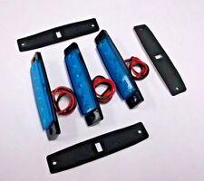 3 BBT 12 volt Large Waterproof Cool Blue LED Courtesy Lights for RVs