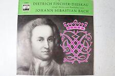Dietrich Fischer Dieskau singt Arien aus Kantaten von Bach Electrola E 90022LP46