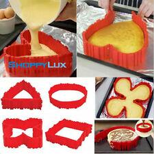 4 Units Self-design Silicone Heart Shape Maker Baking Tools Diy Bake Cake Tool