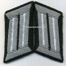 German INFANTRY ARMY Officer collar tabs  Infanterie Offizier Kragenspiegel