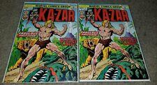 Marvel Comic Kazar 1 NM Bronzeage key book 1974 Cameo Shanna Buscema Savage Land