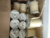 9 mm Cotton Ribbon for Embroidery 110 Meter Spools~Chamisol 4278