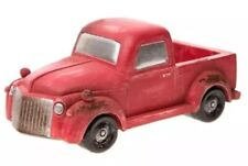 Miniature Dollhouse FAIRY GARDEN - Old-Fashioned Red Pickup Truck - Accessories