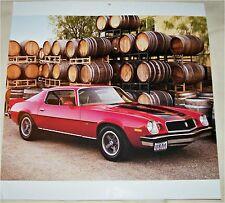 1974 Chevrolet Camaro Z 28  ht car print (red & black)