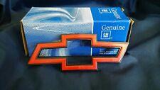 NOS NEW Genuine GM Bowtie Emblem Badge Red & Black Chevrolet Emblem