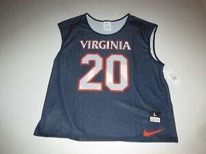 Virginia Cavaliers Nike Dri Fit #20 Basketball Sample Jersey Sz L Fan Sports New
