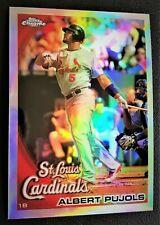 2010 Topps Chrome REFRACTOR - ALBERT PUJOLS #32 - SP Cardinals Mint
