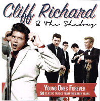 Cliff Richard - Young Ones Forever - 50 Early Cliff & Shadows Tracks On 2CDs