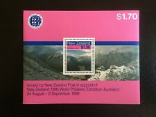 NEW ZEALAND. 1990 WORLD EXHIBITION MINI STAMP SHEET  -:- IN VERY NICE M.U.H..