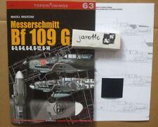 Messerschmitt Bf 109 G - TopDrawings, KAGERO + Free Mask Foil *N*E*W*
