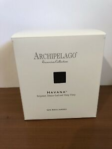 ARCHIPELAGO EXCURSION COLLECTION HAVANA GLASS JAR CANDLE - BRAND NEW 9.5 ounce