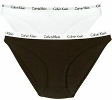 Calvin Klein Women's Carousel Bikini Briefs Panties Underwear (2 PACK) Medium