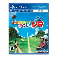 Sony Everybody's Golf VR (PlayStation 4)