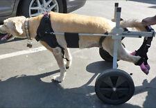 44.4-66.6lbs Extra Large Dog Wheelchair Aluminum Light Weight Doggie Cart Kart