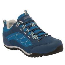 Calzado de mujer Zapatillas fitness/running planos de color principal azul