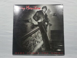 Barry Manilow Here Comes The Night Vinyl LP Record
