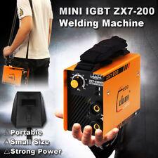 Portable MINI DC 220V IGBT ZX7-200 Full Copper Core Inverter ARC Welding Machine