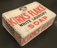 Vintage Advertising Kirk's Flake White Laundry Soap Procter and Gamble Old Stock