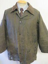 "Vintage Barbour A123 Gamefair Waxed jacket - L 42"" Euro 52 - Sage Green"