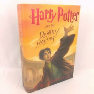 J.K. Rowling Harry Potter and the Deathly Hallows 1st Edition 1st Printing Good