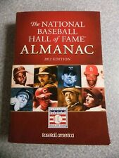 L#718  book- 2012 edition of the National Baseball Hall of Fame Almanac ExMt