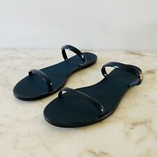 TORY BURCH Solid Navy Blue Jelly Sandal - US 7