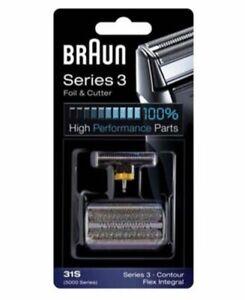 Braun Series 3 31S - 5000/6000 Contour, Flex XP, Flex Integral Foil & Cutter Set