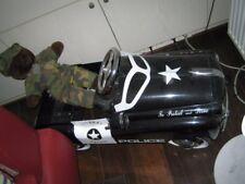 Tretauto Blech Spielzeug Polizei, Nostalgie, neu und ungefahren