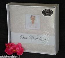 Bridal/Wedding/Engagement  Our Wedding Ivory Rose Photo Album