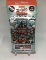 2020 Panini NFL Contenders Football Cello Fat Pack (22 Cards) Fast free shipping
