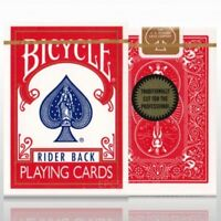 Bicycle Gold Seal Standard Playing Cards RED Rider Back Deck by Richard Turner
