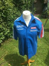 C.2005 TEAM CRESCENT SUZUKI MOTO GP GSVR ORIGINAL TEAM ISSUE MECHANIC RACE SHIRT