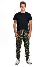 ProGo Men's Casual Jogger Sweatpants Fleece Marled Jogger Pant Elastic Waist