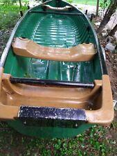Pelican Bayou 16' Canoe, trailer, trolling motor.
