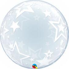 """22"""" Qualatex Bulles Ballons Variés Design Noël au choix list 24"""" Déco bulle Stylé Étoiles"""