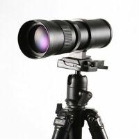 420-800mm f/8.3 HD Telephoto Zoom Lens for Canon EOS Nikon Digital DSLR Camera N