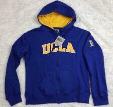 Stadium Athletics Size Large Womens NCAA UCLA Bruins Blue Full Zip Hoodie NWT