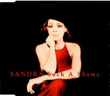 SANDRA - SUCH A SHAME - CD SINGLE NEW UNPLAYED 4 TRACKS 2002