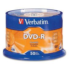 200 DVD-R VERBATIM 43522 4.7GB 16X AZO NUOVI cartone 200 PEZZI CAMPANE DA 50