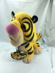 "Plush Tiger Jungle Snubbies Friends 10""  Zoo/Safari Stuffed Animal Free Shipping"