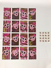 Monkey Fun 16 Valentine's Day Cards Mini Tattoos 8 Designs