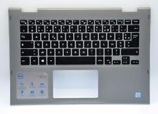 Dell Inspiron 13 5368 5378 Palmrest FRENCH Backlit Keyboard FDX86 JCHV0 CP6P7