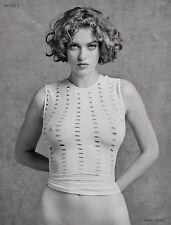 Helena 28625.09 B&W Fine Art Semi-Nude Model, 8.x11 signed photo by Craig Morey