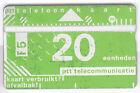 EUROPE TELECARTE / PHONECARD .. PAYS BAS 20U L&G 812B PRIVEE V° BEHEER NOTCHED