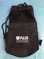 Vintage PADI Diving Society Shoulder Bag/Fishnet/ NEW