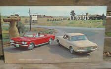 1964 Chevrolet Corvair Showroom Poster Sign-Monza Convertible//Club Coupe 32x18