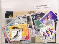 Montserrat Pack US 100 Stamps Different