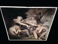 "Henry Fuseli ""Oedipus Cursing Polynices"" German Romantic Art 35mm Glass Slide"