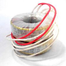 Trasformatore toroidale basse perdite uso prof. 12V+12V indipendenti 100VA
