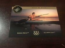 1996 Upper Deck US Olympic Magical Images #MI-2 - Greg Barton - Kayak